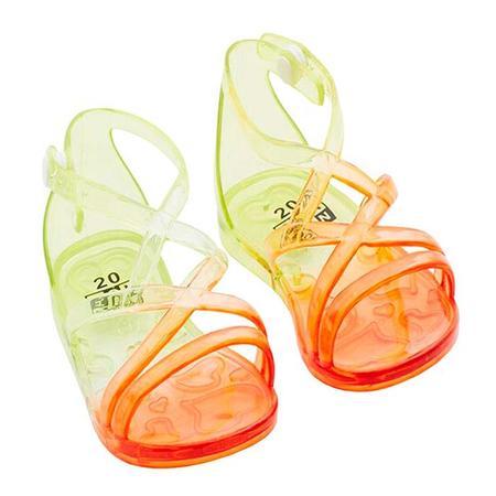 kids Bonton Axelle Ombre Sandals - Orange
