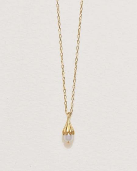 Pamela Love Anemone Necklace - Gold