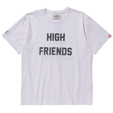 FUCT SSDD X NEIGHBORHOOD NHFU 6 T-SHIRT SS - WHITE