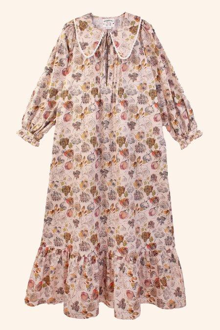 Meadows Diablo Dress - Scribble Floral