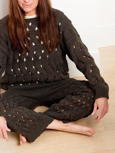 Lauren Manoogian Waves Pants - Blackened