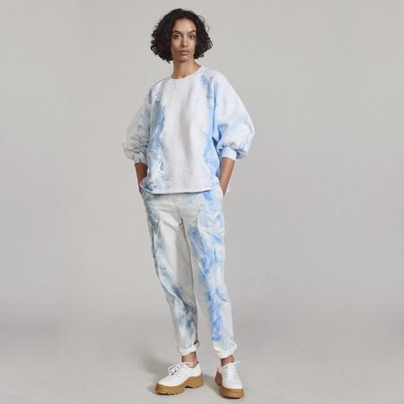 Rachel Comey Fond Sweatshirt - Ink Marble Dyed