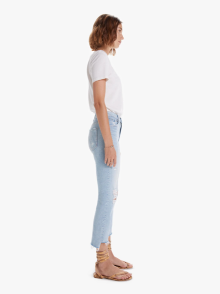 Mother Denim The Insider Crop Jeans - Free Hugs