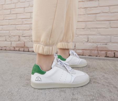 Loeffler Randall Keeley Sneakers - white/green