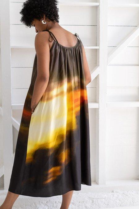 No.6 Ruby Dress - Sunset