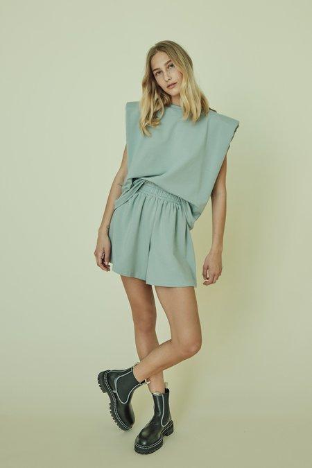 Parentezi High Rise Shorts - Mint