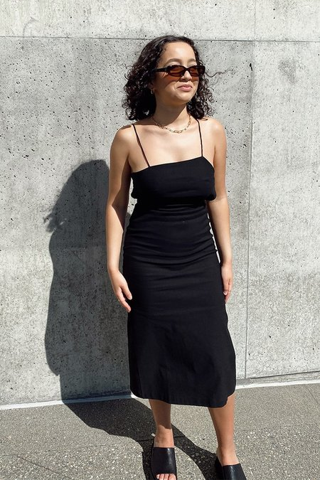 Paloma Wool TIFFANY DRESS - black