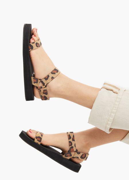 ABLE Macy sandal - Leopard print