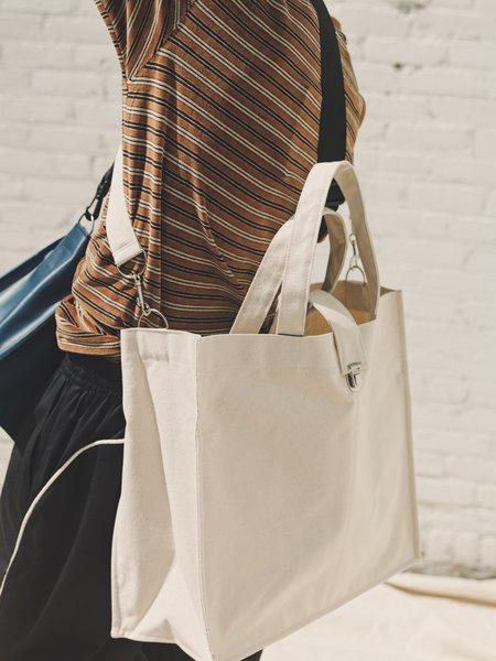 Camiel Fortgens Large Shopper - White Canvas