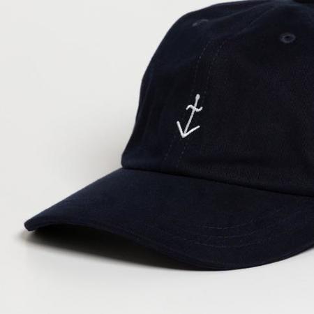 LA PAZ Santos Logo Cap - Navy/Off White