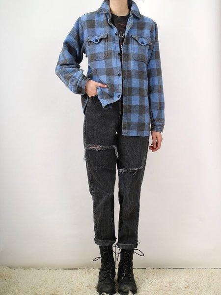 Vintage mack jacket - blue/grey