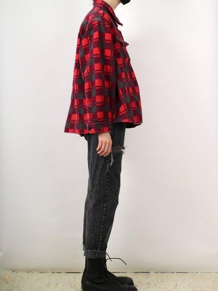 Vintage mack jacket - red/black/grey