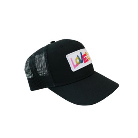 Kerri Rosenthal Loved Trucker Hat - Black/Multi