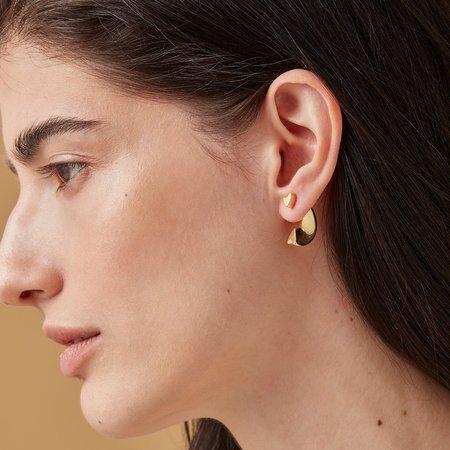 Jenny Bird Hidden Heart Ear Jacket - Gold