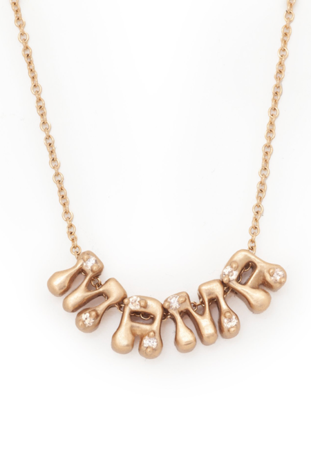Valley Rose Hippie Mama Necklace - Diamonds