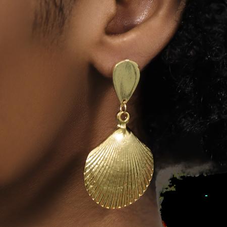 Montserrat New York The Mar Earrings - 24k gold plated