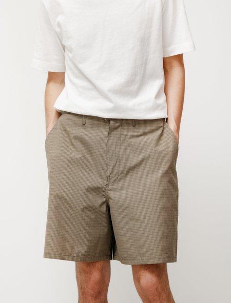 Camiel Fortgens Knee Shorts - Green Check