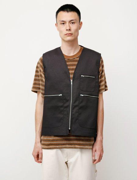 Camiel Fortgens Zip Vest - Black