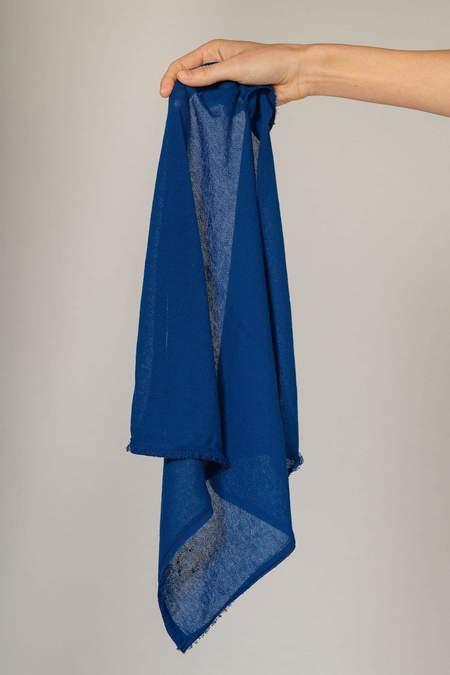 Oyuna Palesa Knitted Cotton Bandana - Blue Sky