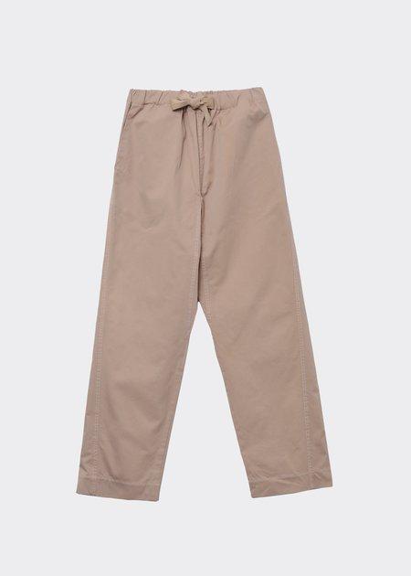 Caramel Judo Trousers - Ecru