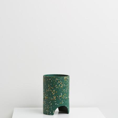 Capra Designs Archie Planter - Emerald Terrazzo
