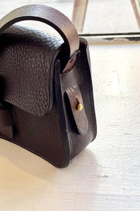 Kate Sheridan Ltd Mini Loop Bag - Chocolate