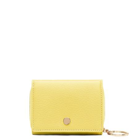 OAD Mini Zip Around Wallet - Lime