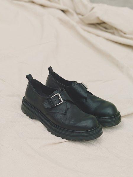 Departamento x Premiata Buckle Strap Calf Leather Combat Derby