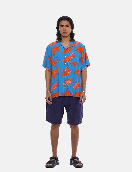 Liberaiders Origami Rayon Shirt - Blue