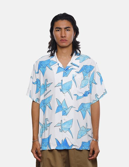 Liberaiders Origami Rayon Shirt - White