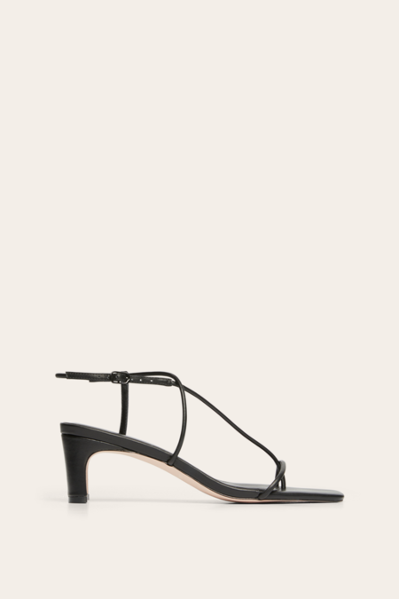 Nelson Made Juliette Midi Sandal - Black