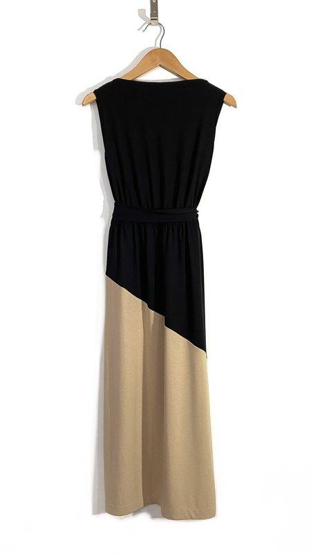 Melow Design Cassioppeia Dress - Black/Beige