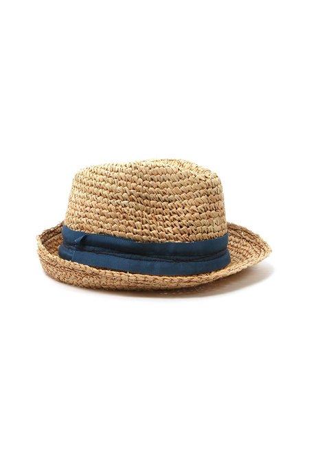 Lola Tarboush Hat - Azur