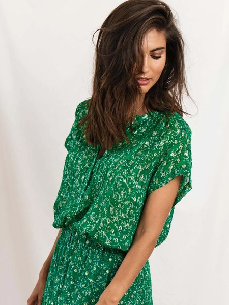 Lolly's Laundry Heather Top - Dark Green