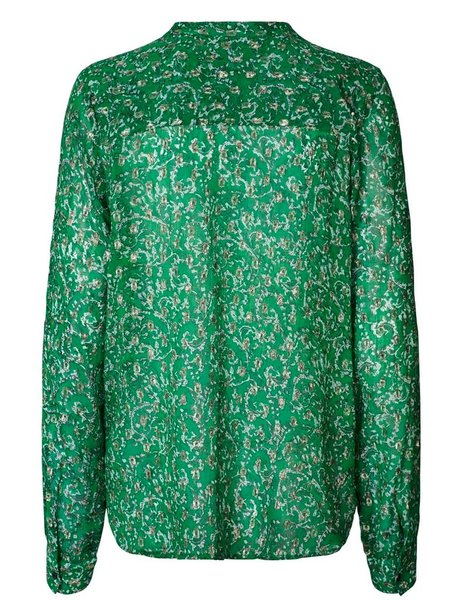 Lolly's Laundry Helena Top - Dark Green