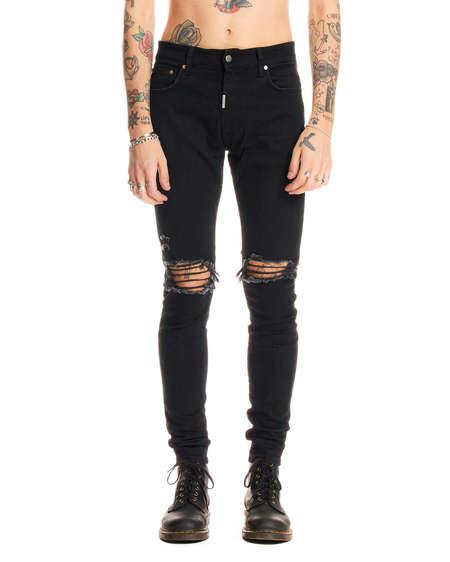 Represent Destroyer Jeans - Black