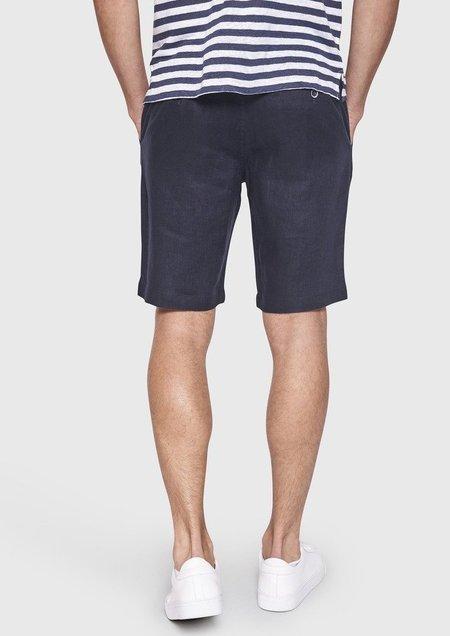 Bruun & Stengade Mosby Linen Shorts - Navy