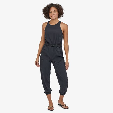 Patagonia Fleetwith Belted Jumpsuit - Black