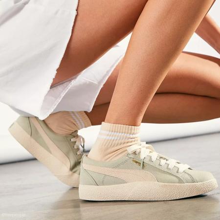 Puma Love in Bloom Women 375065-02 sneakers - Desert Sage/Eggnog