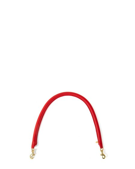 Clare V. Tubular Shoulder Strap - Cherry Red