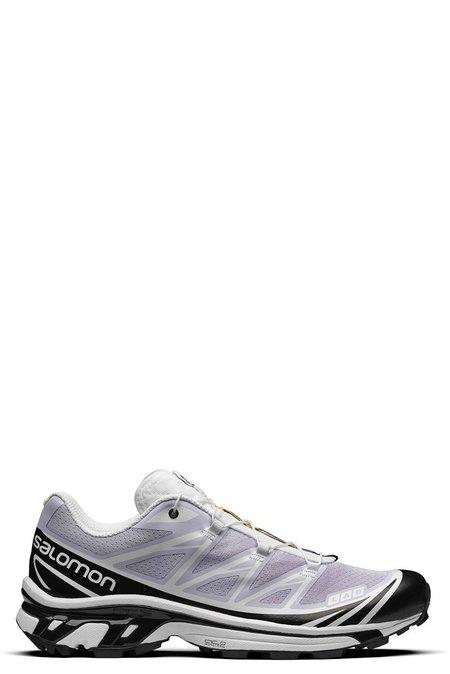 SALOMON XT-6 SNEAKERS - Purple Heather/White/Black