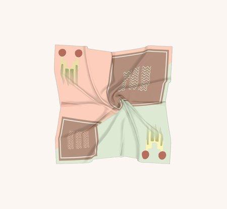 Sazi K.T. | S&S Silk Scarf - multi