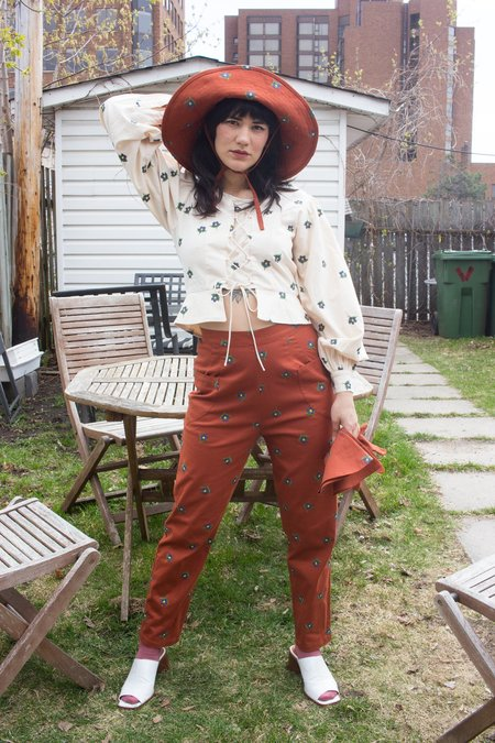 Samantha Pleet Forget Me Not Hat - Sienna