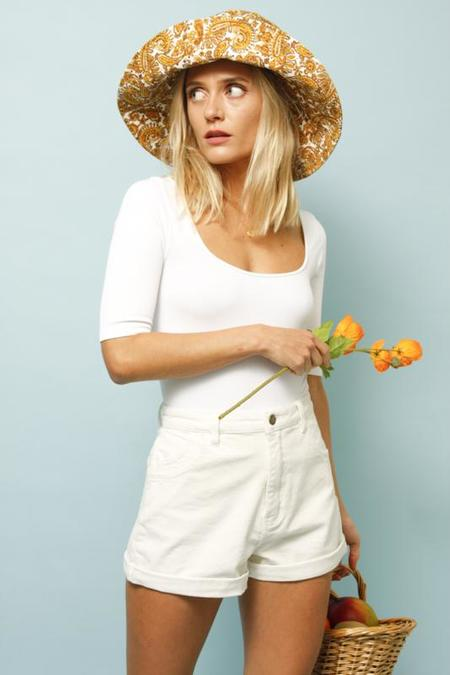 Rollas Duster Short - Off White Cord