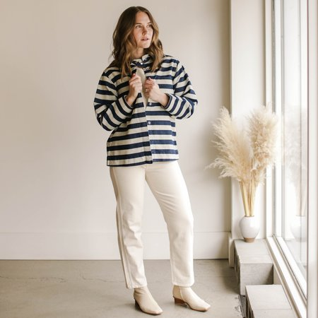Carleen Ardmore Jacket - Wide Stripe
