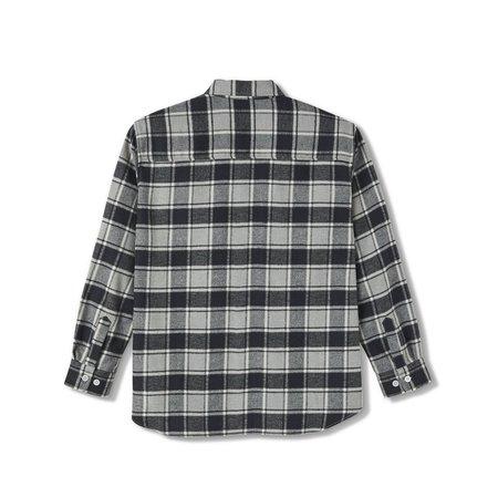 Polar Skate Co. Flannel Shirt - Black