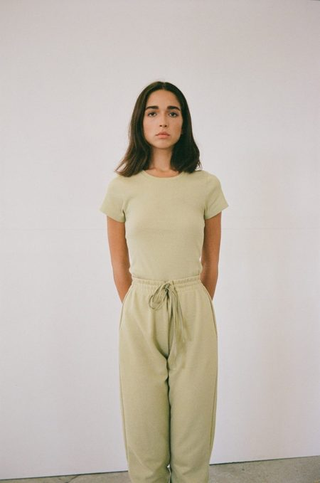 signe Lila T-Shirt - Willow Green
