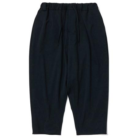 WHITE MOUNTAINEERING Knitted Stretched Twilled Sarouel Pants - Black