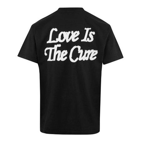 Obey Rainbow T-Shirt - Washed Black