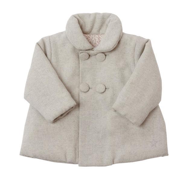 Kid's Numaé Paris Gris Mahe Coat